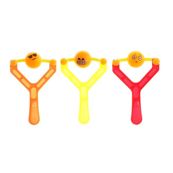 Wish 3pcs Set Kids Catapult Emoji Smiley Slingshot Sling Shot Anti