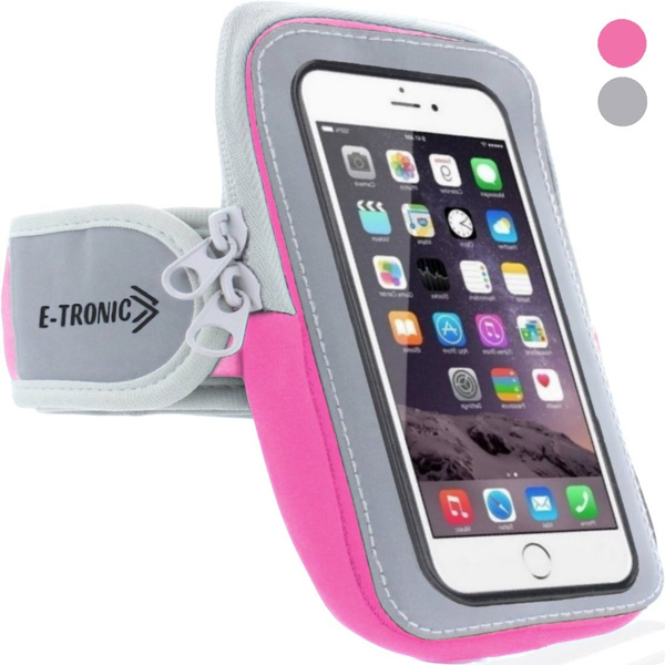 wholesale dealer 92fa5 5e2e8 Sports Armband: Cell Phone Holder Case Arm Band Strap With Zipper Pouch  Mobile Exercise Running Workout For Apple iPhone 6 6S 7 Plus Touch Android  ...