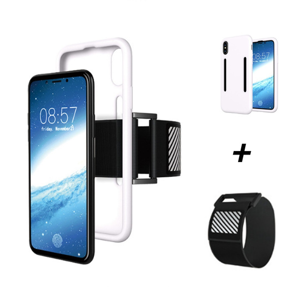 e0a497d878b6 iPhone X Case,Black Friday Deals Sports Armband Arm Band Belt Outdoor  Portable Light Slim Case for Apple iPhone X Great for Running Hiking  Jogging ...