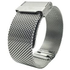 watchbandstrap, Steel, polished, Jewelry