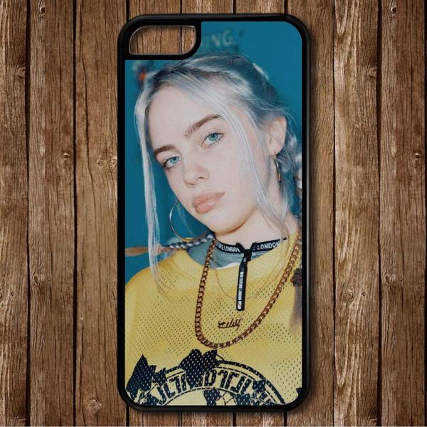 hot sale online ef0c5 1b9b4 Billie Eilish phone case for iPhone 4/5/5s/6/6S/6 Plus/6S Plus/7/7 Plus/8/8  plus/X,samsung galaxy and cell phone Samsung Galaxy s9/s9+/S10/S10+/IPHONE  ...