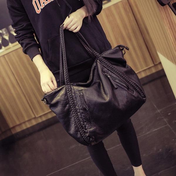 0133aae2d9d Wish   2017 Large Soft Leather Bag Women Handbags Ladies Crossbody Bags For Women  Shoulder Bags Female Big Tote Sac A Main Famous Brand