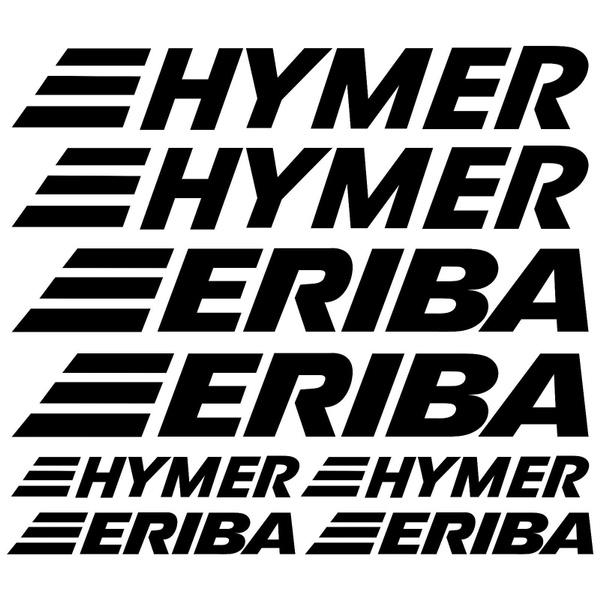 Hymer Eriba Xl Aufkleber Sticker Wohnmobil Camper Wohnwagen Caravan 8 Stücke Pcs