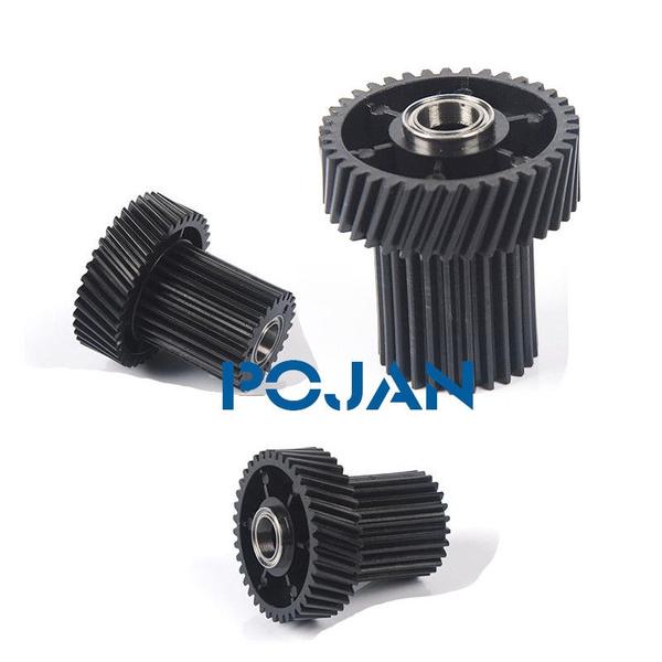 2X Paper Roller Gear For  Xerox 700 700I C75 J75 770 5151 38T 25T