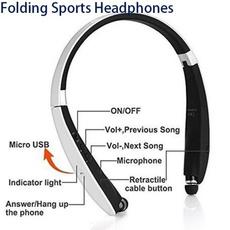 Headset, Ear Bud, wirelessearphone, sportearphone