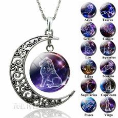 constellationnecklace, zodiacnecklace, zodiacpendant, Zodiac