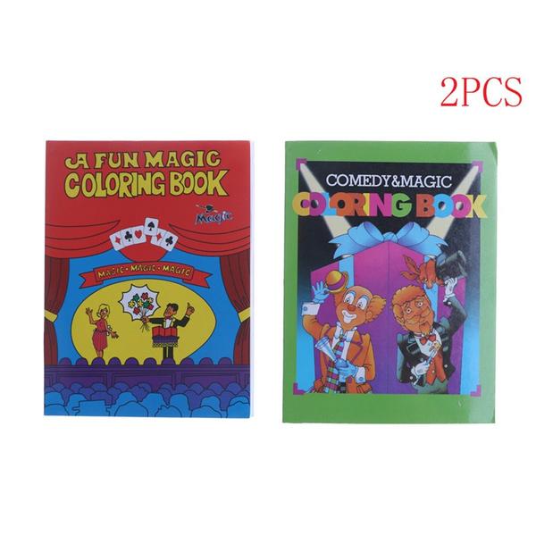Wish | 2pcs Magic Coloring Book Magic Tricks Best For Children Stage ...