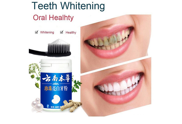 Wish 80g Magic Natural Teeth Whitening Powder Pearl Tooth Powder