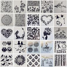 stencil, Scrapbooking, Paper, Hobbies