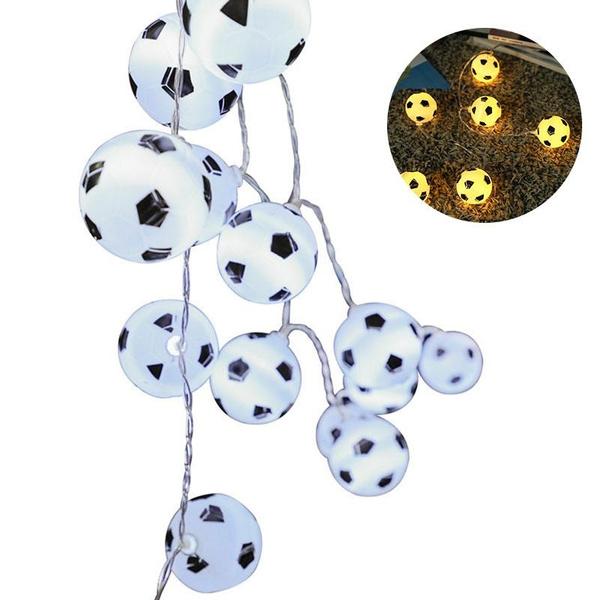 Soccer String Lights 20 Led Outdoor Light String Football Led Lamp