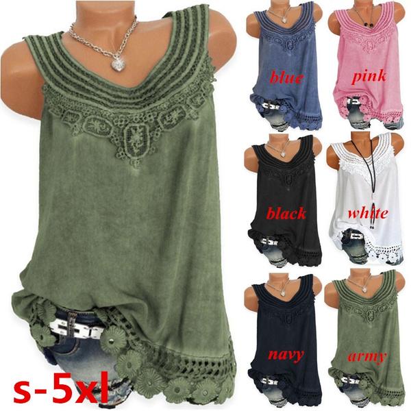 Summer, Vest, Fashion, Lace