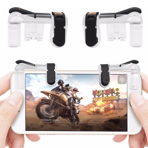 Joystick For Pubg Mobile Game L1 R1 Trigger Aim Button L1 R1 Gaming Trigger Fire Button Joystick For Iphone Smart Phone Game Back To Search Resultsconsumer Electronics Video Games