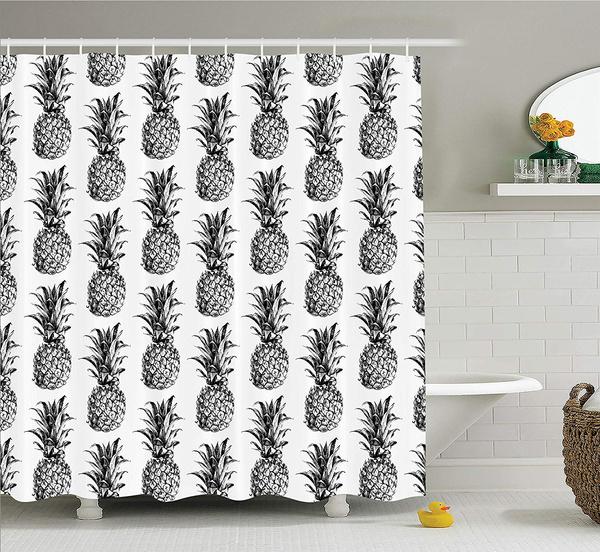 Pinele Decor Shower Curtain Set
