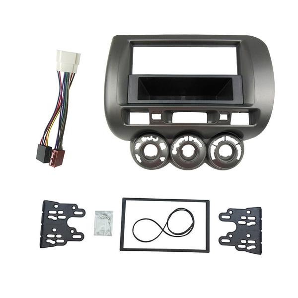 Fascia for Honda Jazz Fit 2002-2008 dash kit facia stereo radio install kit