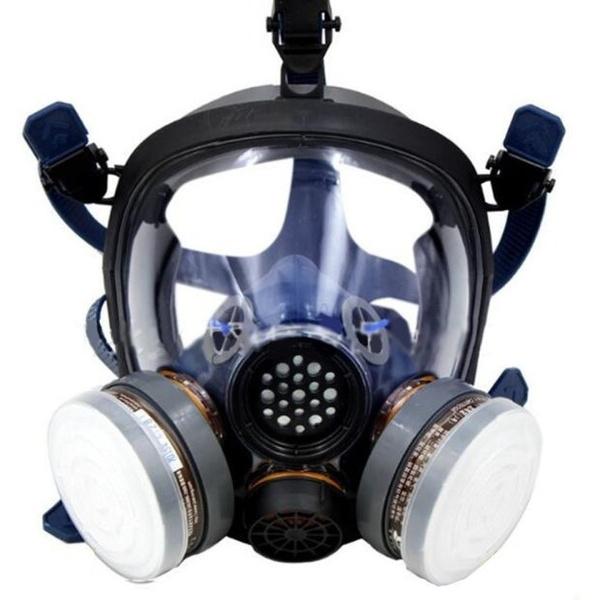 gas mask virus