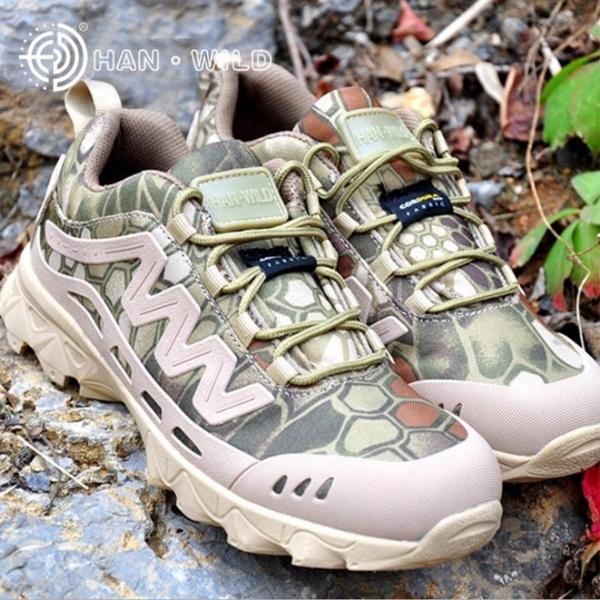 b6922c2e841 Mens Military Tactical Camo Boots Camping Hiking Shoes Climbing Trekking  Footwear Men Hunting Walking Shoes Mountain Outdoor Sneakers