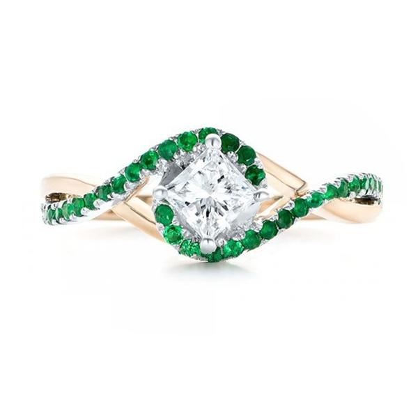 DIAMOND, gold, Wedding, Women's Fashion