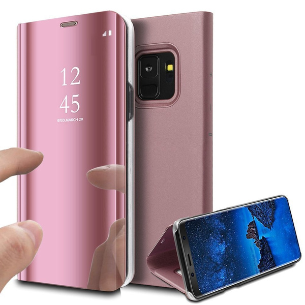 HOUSSE ETUI COQUE FLIP PROTECTION CLEAR VIEW TRANSPARENTE SAMSUNG GALAXY NOTE 9