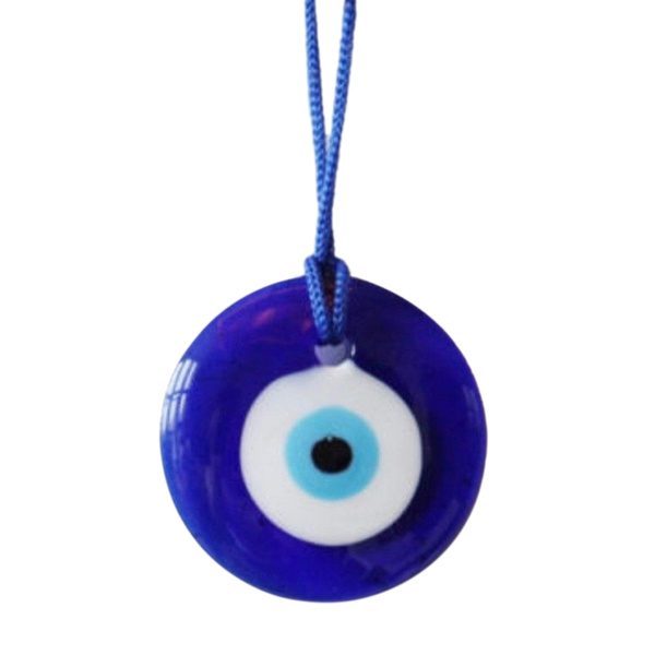 Turkish Blue Glass Evil Eye Amulet Wall Hanging Home Decor Lucky Protection