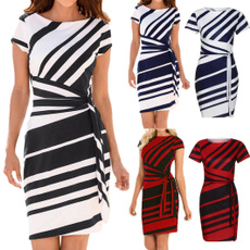 dressforwomen, short sleeve dress, Mini, Summer