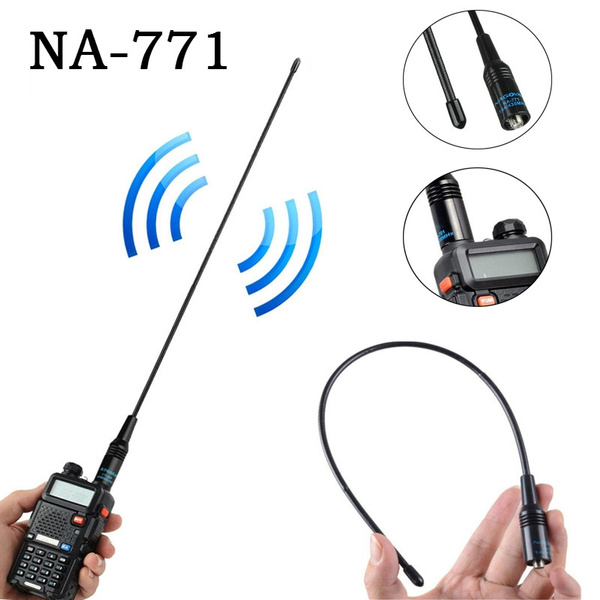 Nagoya NA-771 SMA-Female Dual Band 10W Antenna for Baofeng UV5R UV-82 SAUS