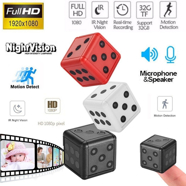 SQ16 1080P HD Hidden SPY Camera Night Vision Motion Detection Video Recorder Cam