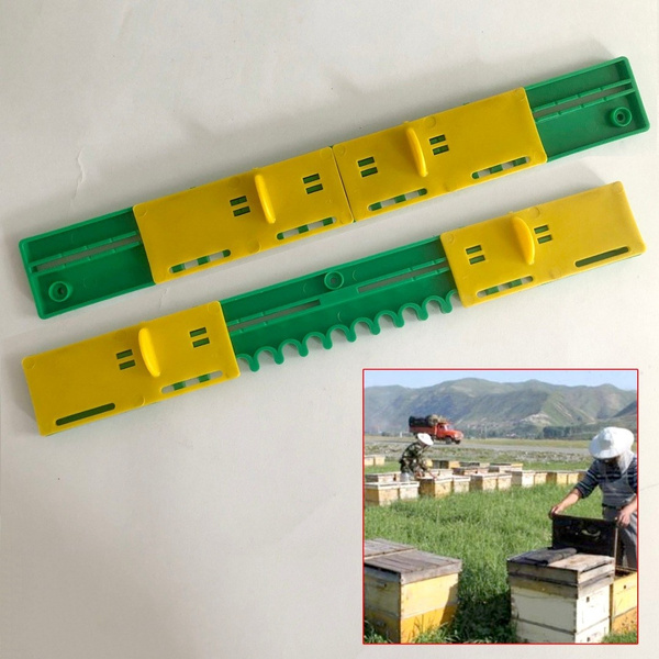 Plastic Bee Hive Sliding Mouse Guards Travel Gate Beekeeping Equipment Tool