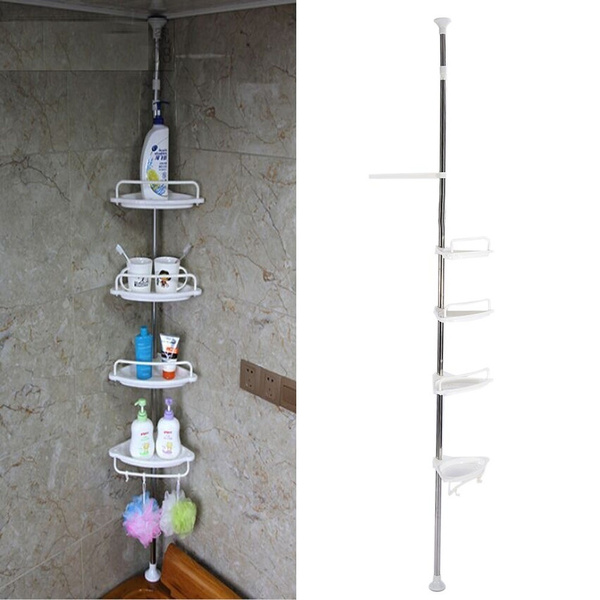 Bathroom Corner Shower Shelf Rack
