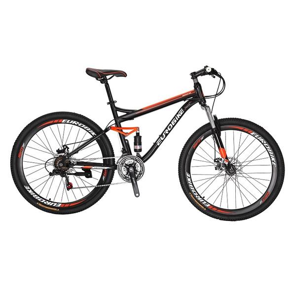 Dual Suspension Mountain Bike >> Eurobike S7 Mountain Bike 21 Speed Gears 27 5 Inches Dual Suspension