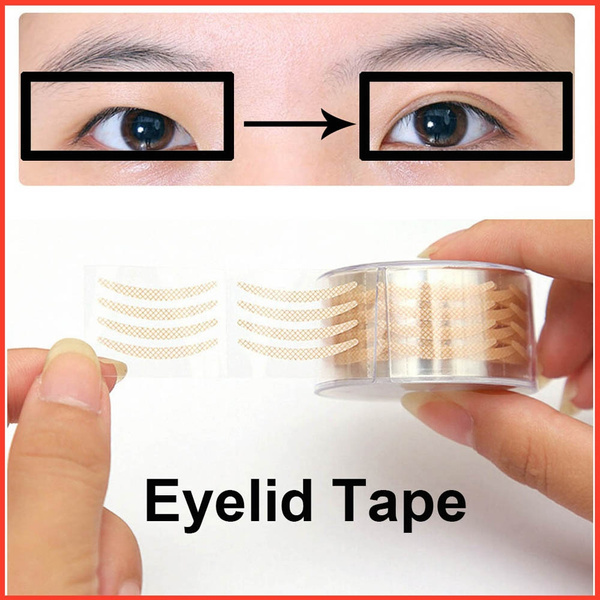 New Invisible Double Eyelid Tape Single Side Stickers Perfect for Hooded  Droopy Uneven Small Eyes Mono-eyelids Monolids
