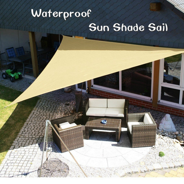 Waterproof Sun Shade Sail Triangles