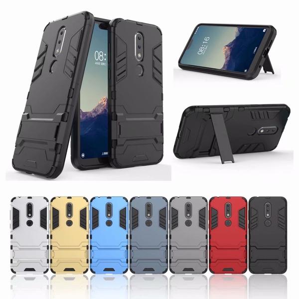 3947d1057af Rugged Armor Cover of Nokia 6.1 5.1 Plus X6 X5 2.1 / Nokia 6 2018 ...