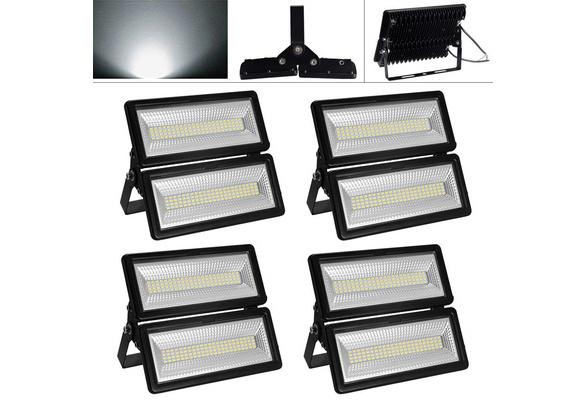 100W LED Flutlicht Fluter Strahler SMD Außen Scheinwerfer Kaltweiß mit Stecker