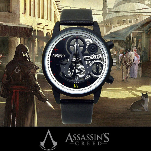Assassin S Creed Waterproof Watch Womens Mens Kids Boys Girls Cool
