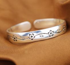 Sterling, Women, Fashion, Wristbands