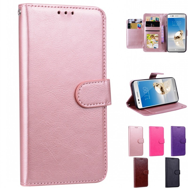 For LG-Aristo 2 Wallet Case, LG-Tribute Dynasty SP200 / LG-Zone 4 /  LG-Fortune 2 / LG-K8 2018 / LG-K8+ Plus Case, Risio 3 Wallet bag,  [Kickstand