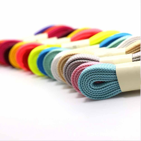Thick Flat-Fat Shoe Laces Wide Shoelaces All Shoe Types Trainer Boot-Shoes
