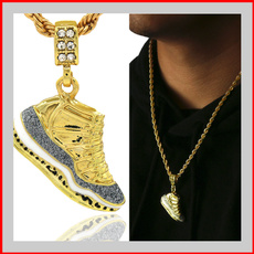 Hip-hop Style, necklaces for men, gold, streetfashion