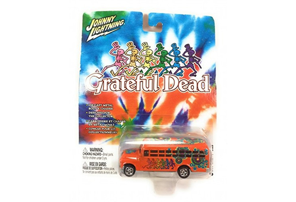 Johnny Lightning Grateful Dead Diecast 1956 Chevy School Bus