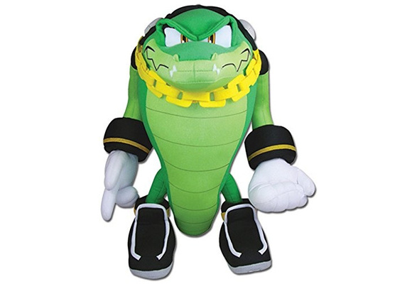 Ge Animation Great Eastern Ge 52633 Sonic The Hedgehog Vector The Crocodile Stuffed Plush 13 Wish