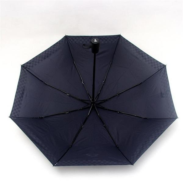 Wish Black Checkered Automatic Folding Umbrella For Bmw Mini Cooper S R50 R53 R56 R60 F55 F56 Clubman Countryman Roadster Paceman Cbz