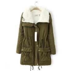 casaco, jaqueta, grosso, mulhere