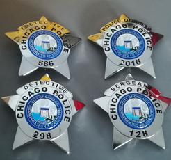 policebadge, Chicago, TV, judicial
