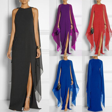 Women's Fashion, Waist, chiffon, women dresses
