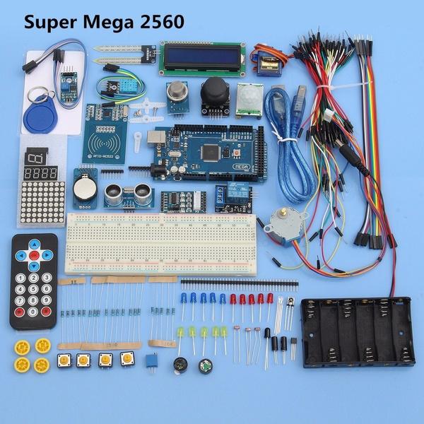 Arduino Super Mega 2560 Starter Kits For Arduino 1602LCD RFID Relay on parallax rfid, mobile rfid, connected car rfid, nfc vs rfid, diy rfid,
