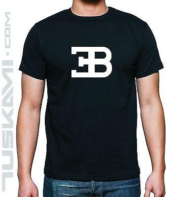 Wish T Shirt Camiseta Bugatti Car Logo Eb Veyron