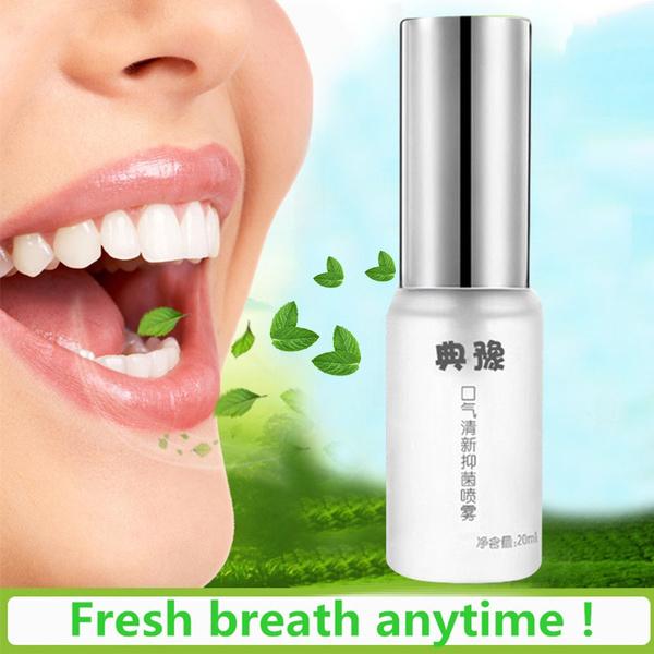 Bad Breath Treatment >> New Breath Freshener Spray Remove Bad Breath Lasting Antibacterial Liquid Mouth Clean Bad Breath Treatment Of Oral Ulcer Pharyngitis Halitosis