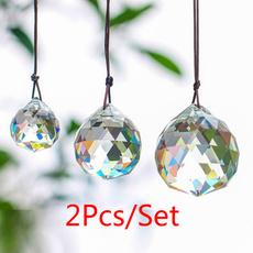 crystalglas, rainbow, crystal pendant, crystalball