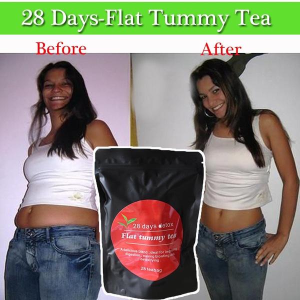 Fittea 28 Day Detox With Organic Green Tea Oolong Wu Yi Garcinia