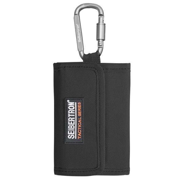 Seibertron RFID Blocking Wallet water repellent Purse Unisex coin change holder